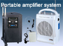 Portable amplifier system